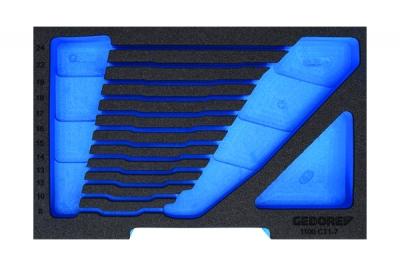 Modul de burete 2/2 CT pentru cutie L-BOXX 136, fara scule, nr.art. EI-1100 CT2-1.04