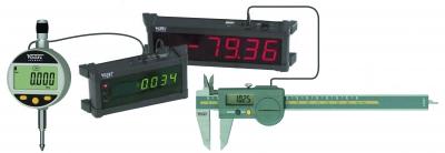 Afisaj digital extern pentru aparate de masura cu conexiune prin cablu cu port OpentruO RS232C