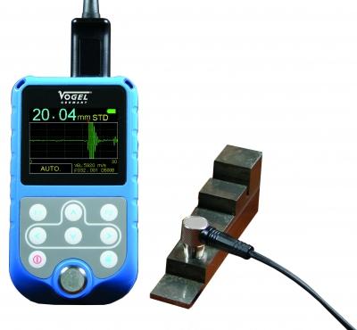Aparat cu ultrasunete pentru masurarea grosimii  Echo-Echo System (A+B-Scan)