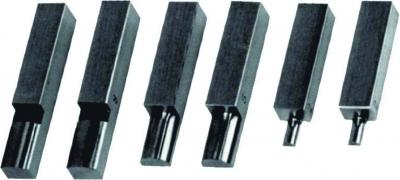 Bacuri de masurare semirotunde, pereche, ø 2 mm