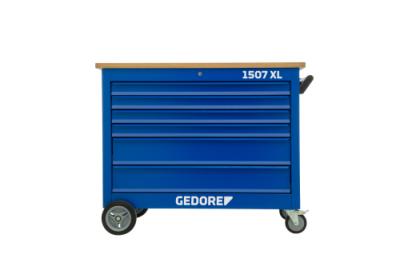 Banc de lucru mobil cu sortiment de scule, 308 piese, nr.art. 1507 XL 40200 TS-308