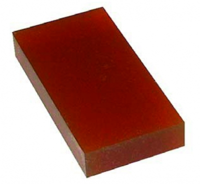 Bloc testare duritate tip Shore A, 80, 80 x 40 x 12 mm