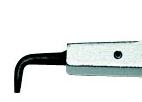 Carlig pentru cleste cu pin cod 135, nr.art. E-135 20