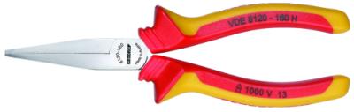 Cleste VDE cu falci plate, 160 mm, nr.art. VDE 8120-160 H