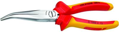 Cleste VDE pentru telefonisti, cu falci inclinate, 160 mm, nr.art. VDE 8132 AB-160 H