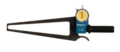 Dispozitiv pentru masurat grosimi (metric)