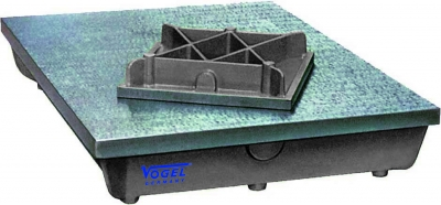 Placa de control acuratete 1, 600 x 500 mm DIN 876