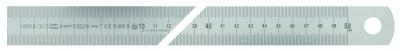 Rigla gradata tip A din inox, 40x2.0 clasa toleranta EC II, 2000 mm