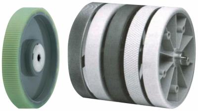Roata pentru contor masurare lungime din aluminiu cauciucat, 20 cm
