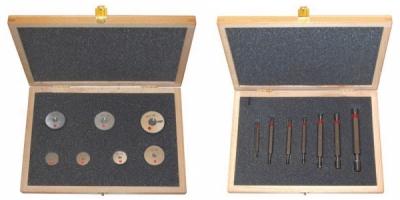 Set calibre tampon lis T-NT, cu toleranta H7, 3-12 mm