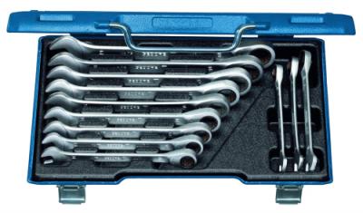 Set chei combinate cu clichet, 12 piese, 8-19 mm, nr.art. 7 R-012