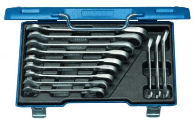 Set chei combinate cu clichet reversibil, 12 piese, 8-19 mm, nr.art. 7 UR-012