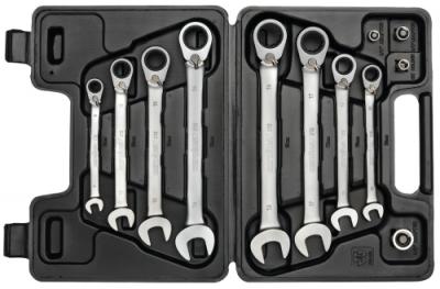 Set chei combinate cu clichet reversibil, 12 piese 8-19 mm, nr.art. R07203012