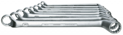 Set chei inelare duble, cotite 8 piese 6-22 mm, nr.art. 2-8