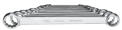 Set chei inelare duble, drepte 12 piese 6-32 mm, nr.art. 4-12