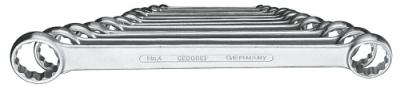 Set chei inelare duble, drepte 12 piese 6-32 mm, nr.art. 4-120