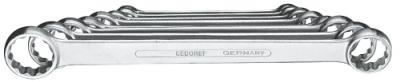 Set chei inelare duble, drepte 8 piese 6-22 mm, nr.art. 4-8