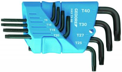 Set chei TORX forma L, 8 piese, T9-T40, nr.art. H 43 TX-88