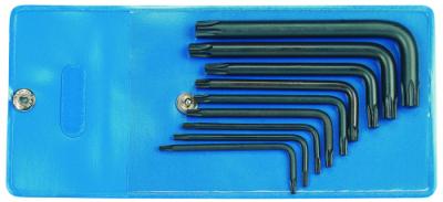 Set chei TORX forma L, 9 piese, T7-T40, nr.art. 43 TX-09