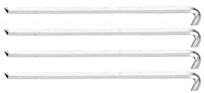 Set de 4 brate extractor 140 mm, nr.art. 1.29/15