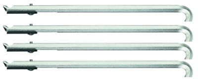 Set de 4 brate extractor 178 mm cu distantere, nr.art. 1.29/30