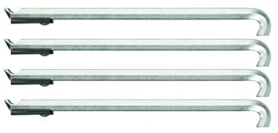 Set de 4 brate extractor 178 mm cu distantere, nr.art. 1.29/35