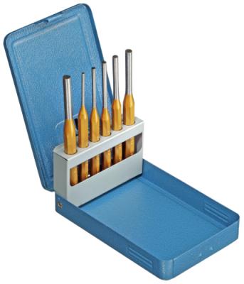 Set dornuri cilindrice, 6 bucati in cutie metalica, nr.art. 116 D