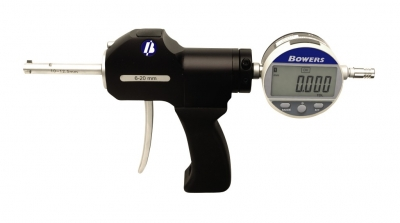 Micrometre XT HSY tip pistol cu ceas indicator pentru alezaje 100-200 mm cu inel de setare
