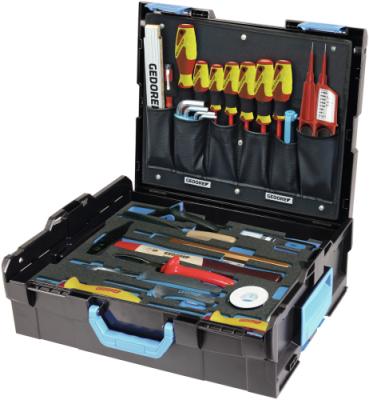 Trusa cu selectie scule pentru electricieni in cutie GEDORE-Sortimo L-BOXX 136, 36 piese, nr.art. 1100-02