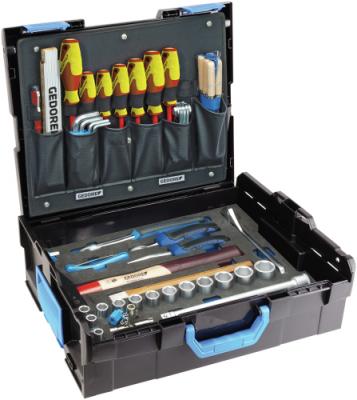 Trusa cu selectie scule pentru mecanici in cutie GEDORE-Sortimo L-BOXX 136, 58 piese, nr.art. 1100-01