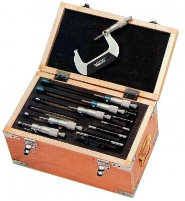 Trusa micrometre mecanice de exterior, 6 piese, 150-300 mm DIN 863