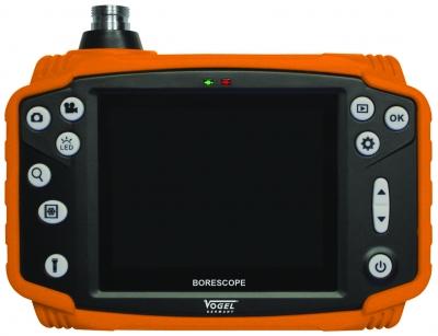 Video Borescop IP54, cu ecran color TFT 3.5